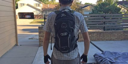 Osprey Syncro 10 Hydration Pack Worn Back