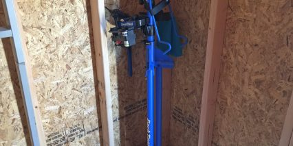 Park Tool Home Mechanic Repair Stand Folded 41 Inch Height