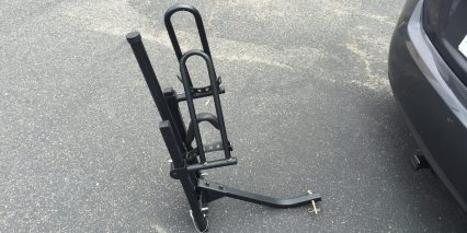 Prorack Bike Rack Hitch Platform Folded Side