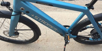Stromer St1 Limited Edition Charging Port Bottle Cage Bosses