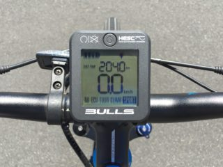 Bulls Outlaw E45 Grayscale Removable Lcd Display