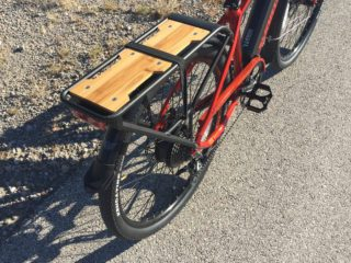 Smartmotion Pacer Rear Rack Bamboo Deck Bungee