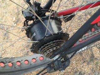 Voltbike Yukon 750 Bafang 8fun Fat Bike Geared Hub Motor