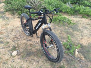 Voltbike Yukon 750 Electric Fat Bike Suspension