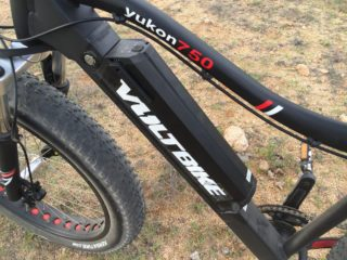 Voltbike Yukon 750 Removable Inset 48 Volt Battery