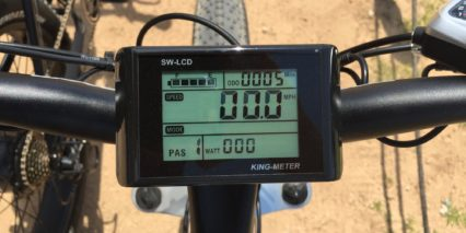 2016 Rad Power Bikes Radrover Backlit King Meter Lcd Display