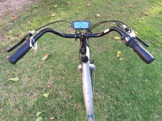 Biria Easy Boarding Electric Relaxed Cruiser Bars Bright Display