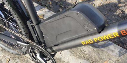 Rad Power Bikes Radcity 48 Volt 11 6 Amp Hour Battery