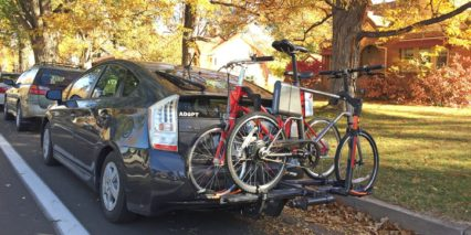 Surface 604 Yunbikes On Car Rack