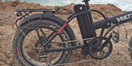 Voltbike Mariner Carry Rack With Light And Pannier Blockers