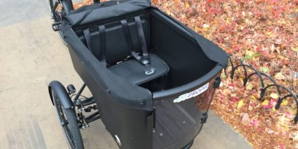 Butchers Bicycles Mk1 E Cargo Bin With Child Seats And Seatbelts