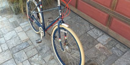 Public M8 Electric Cream Kenda Tires Alloy Fenders Accent Wires