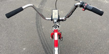 Sun 24 Traditional Electric Tricycle Backlit Lcd Console Cruiser Bars