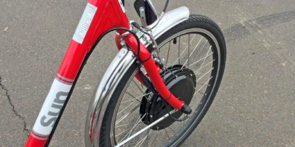 Sun 24 Traditional Electric Tricycle Stainless Steel Fender