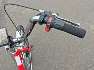 Sun 24 Traditional Electric Tricycle Twist Throttle And Control Pad