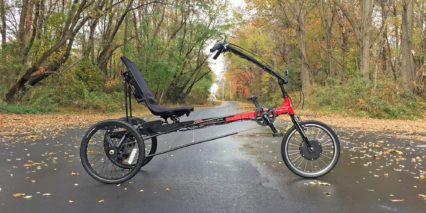 Sun Seeker Eco Delta Electric Trike