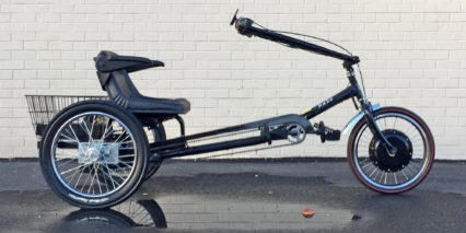 Worksman Cycles Pav3 Stretch Electric Trike