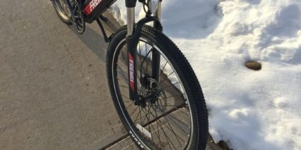 Freway Buffalo Suspension Fork With Lockout Rebound Adjust