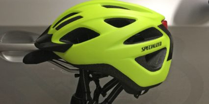 Specialized Centro Led Helmet High Visibility Fluorescent Yellow Safety Ion