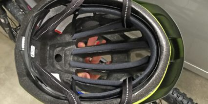 Specialized Centro Led Helmet Inside Padding Vents