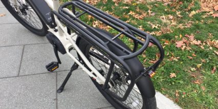 Benno Boost E 10d Extra Long Cargo Rack With Pannier Rails