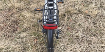 Magnum Premium Stand Alone Spanninga Rear Light On Rack