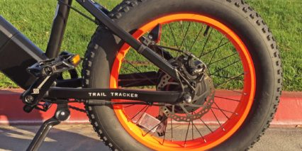 Pedego 20 Trail Tracker 160 Mm Tektro Mechanical Disc Brakes