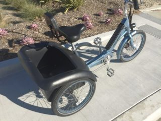 2017 Pedego Trike Velo Oversized Comfort Seat With Back Rest