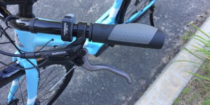 2017 Raleigh Detour Ie Rubber Ergonomic Grips