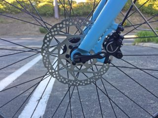 2017 Raleigh Detour Ie Shimano M355 Hydraulic Disc Brakes 160 Mm