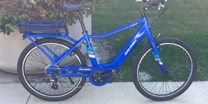 2017 Raleigh Sprite Ie Blue Ebike