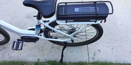 2017 Raleigh Sprite Ie Rear Kickstand Cargo Rack Battery