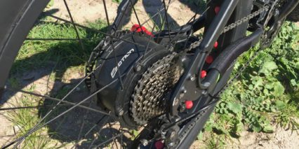 Easy Motion Evo Big Bud Pro 350 Watt Dapu Geared Motor Fat Bike Specific