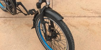 Magnum Classic Zoom Suspension Fork Integrated Light Fenders