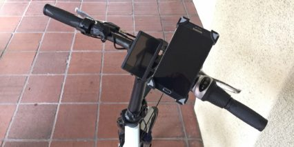 Platinum E Bike 3ond Smart Phone Holder Included