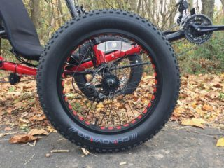 Sun Seeker Fat Tad Cx Chao Yang Tire Punched Rim Red Tire Liners