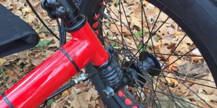 Sun Seeker Fat Tad Cx Front Suspension And Disc Brake