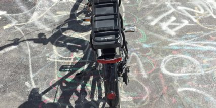 Corratec Lifebike 25 Kg Rated Rear Rack Racktime Axa Led Backligt