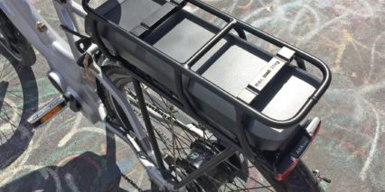 Corratec Lifebike Rear Rack Battery Bosch Powerpack 400