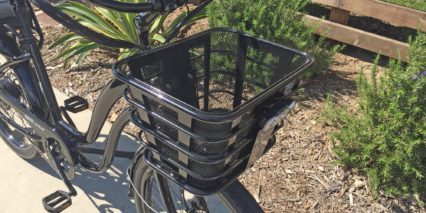 Electric Bike Company Model S Front Basket With Steel Mesh Insert