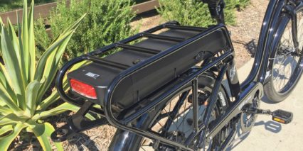 Electric Bike Company Model S Rear Hitch And Rack Battery