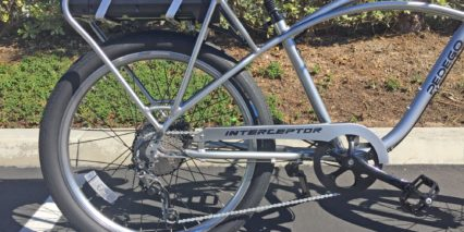 Pedego Platinum Interceptor 10 Speed Shimano Slx Drivetrain