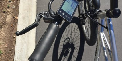 Pedego Platinum Interceptor Fixed Monochrome Lcd Display