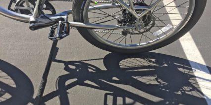 Pedego Platinum Interceptor Large Adjustable Kickstand