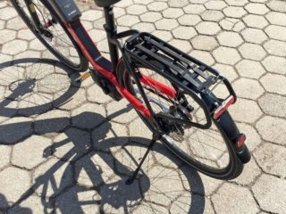Riese And Muller Nevo Nuvinci Racktime Rack With Bibia Straps