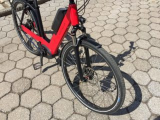 Riese And Muller Nevo Nuvinci Suntour Ncx Spring Suspension Fork 63 Mm Travel