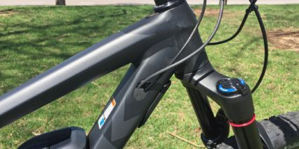 Trek Powerfly 8 Fs Plus Integrated Cables Knock Block Headset Hartzell Hug Bumper