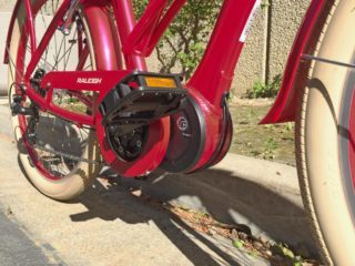 Raleigh Retroglide Ie Currie Electro Drive Tranzx Motor