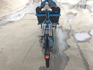 Riese And Muller Load Touring Hs Optional Rear Rack With Rubber Band Straps