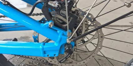 Riese And Muller Load Touring Hs Tektro Auriga Comp Hydraulic Disc Brakes 203 Mm Rotor Back
